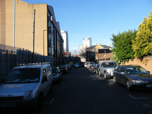 Millwall Dock Road 2011
