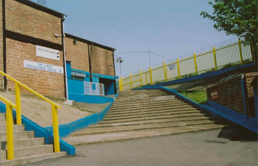 The Old Steps up to the Halfway Line