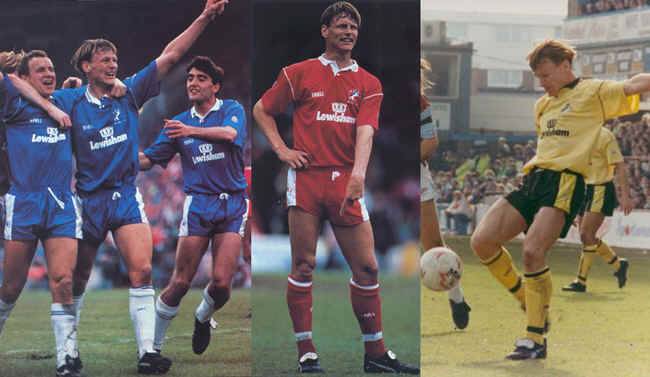 Teddy in Various Millwall Kits 1990/91