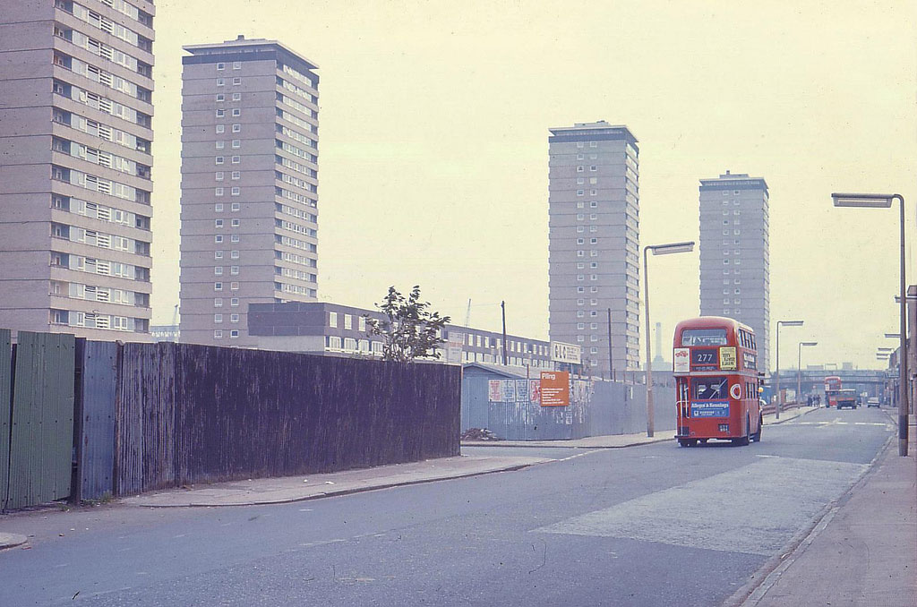 West Ferry Road 1973