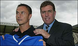 Dennis Wise and Mark McGhee